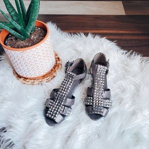 Aldo studded sandals